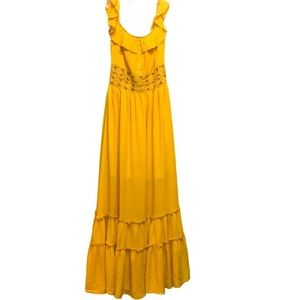 Miss Avenue Embroidered Maxi Dress